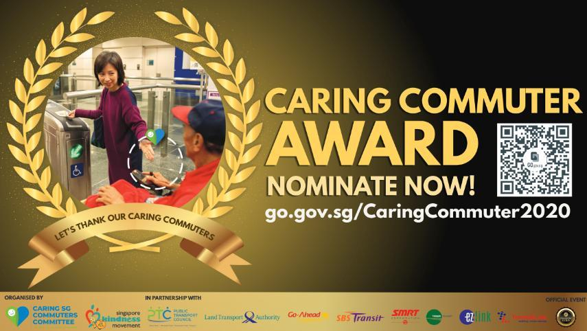 Nomination for Caring Commuter Award