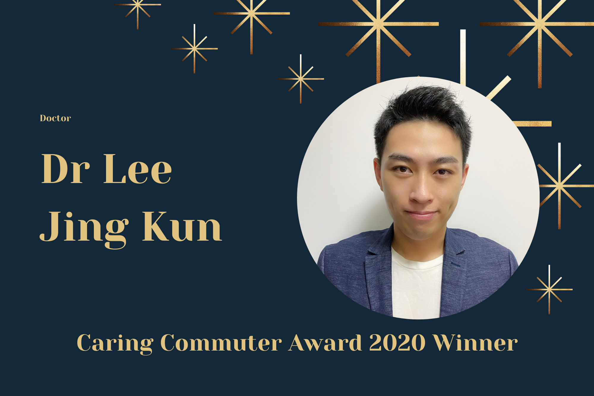 Meet Dr Lee, Doctor and Caring Commuter Award 2020 Winner